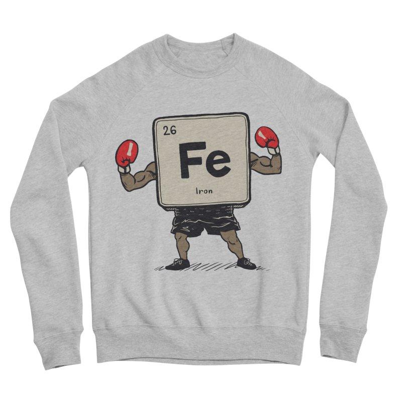 Iron the Boxer Women's Sponge Fleece Sweatshirt by Vincent Trinidad Art