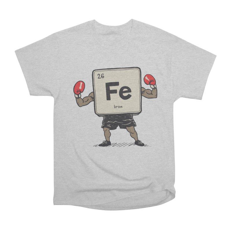 Iron the Boxer Men's Heavyweight T-Shirt by Vincent Trinidad Art