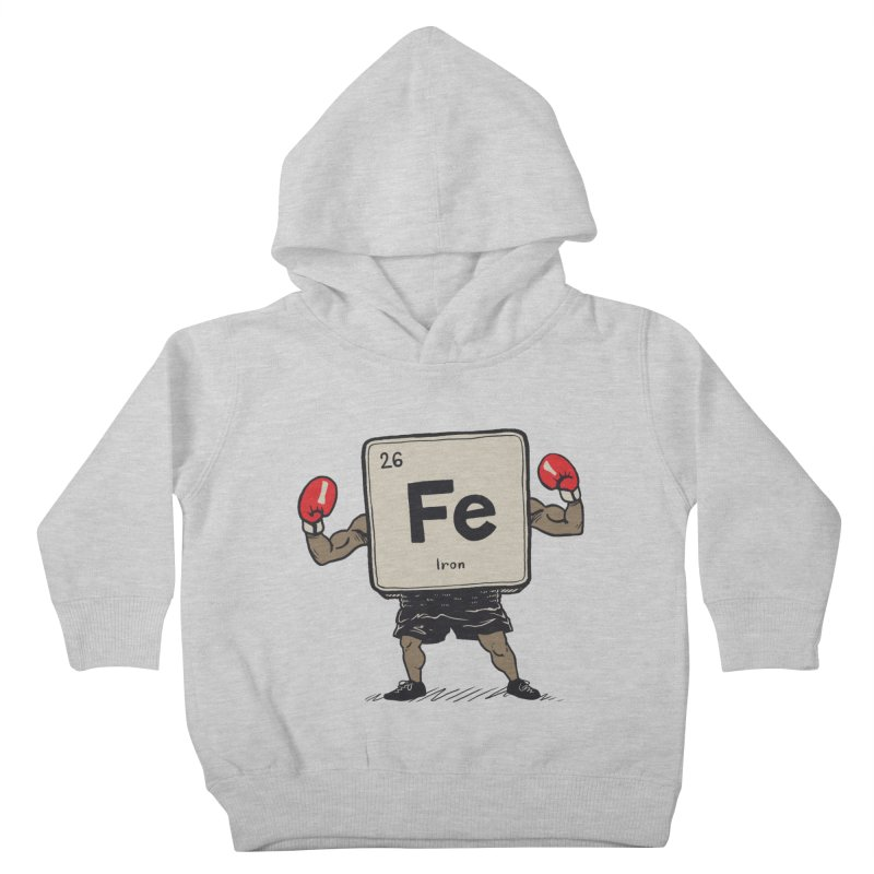Iron the Boxer Kids Toddler Pullover Hoody by Vincent Trinidad Art