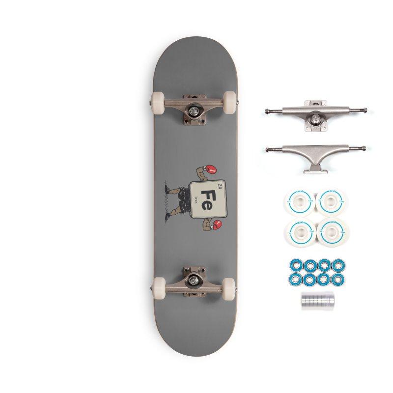 Iron the Boxer Accessories Complete - Basic Skateboard by Vincent Trinidad Art