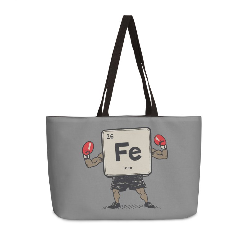 Iron the Boxer Accessories Weekender Bag Bag by Vincent Trinidad Art