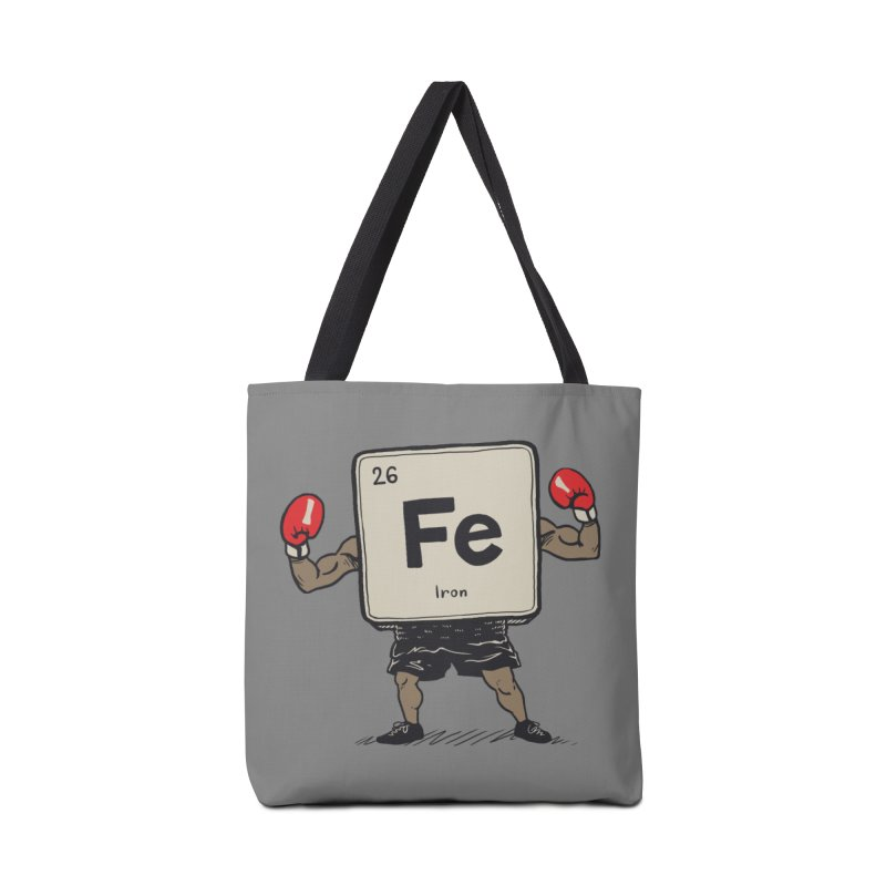 Iron the Boxer Accessories Tote Bag Bag by Vincent Trinidad Art