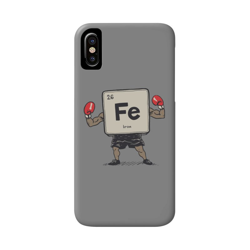 Iron the Boxer Accessories Phone Case by Vincent Trinidad Art