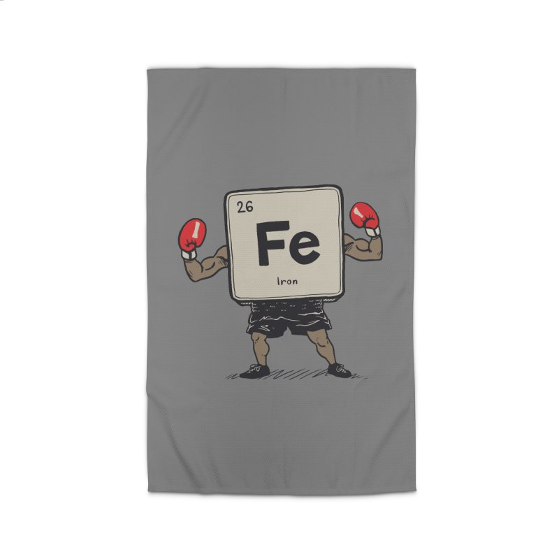Iron the Boxer Home Rug by Vincent Trinidad Art