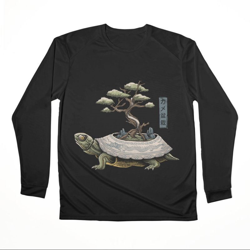 The Legendary Kame Men's Performance Longsleeve T-Shirt by Vincent Trinidad Art