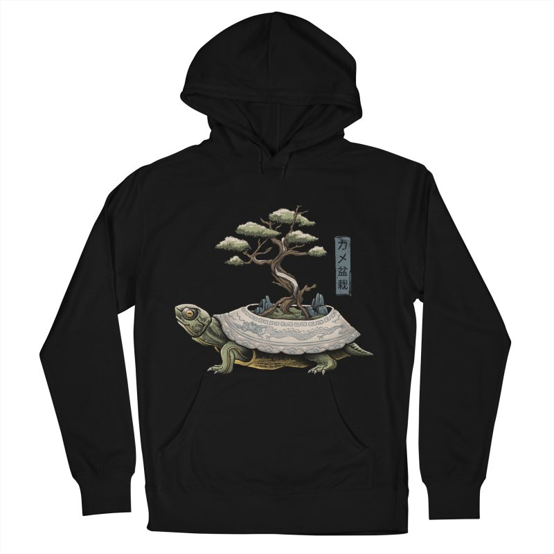The Legendary Kame Men's French Terry Pullover Hoody by Vincent Trinidad Art