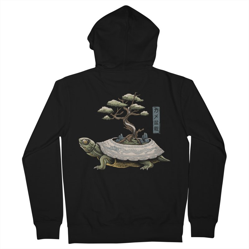 The Legendary Kame Men's French Terry Zip-Up Hoody by Vincent Trinidad Art