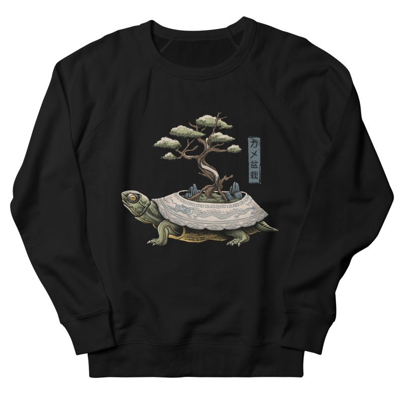 The Legendary Kame Men's French Terry Sweatshirt by Vincent Trinidad Art