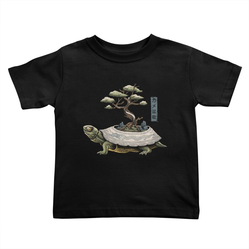 The Legendary Kame Kids Toddler T-Shirt by Vincent Trinidad Art