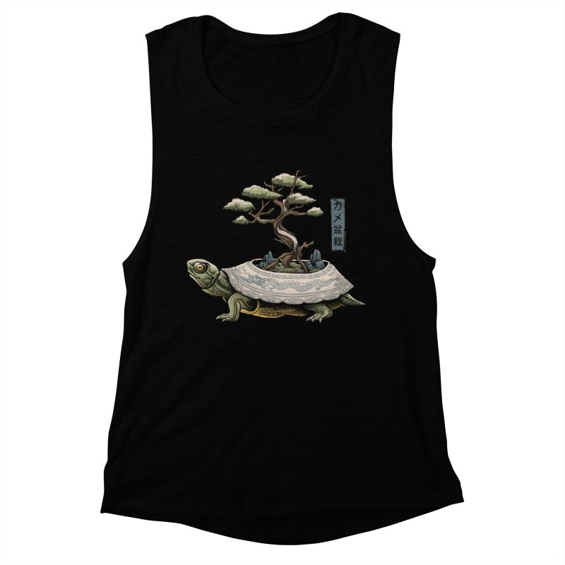 The Legendary Kame Women's Muscle Tank by Vincent Trinidad Art