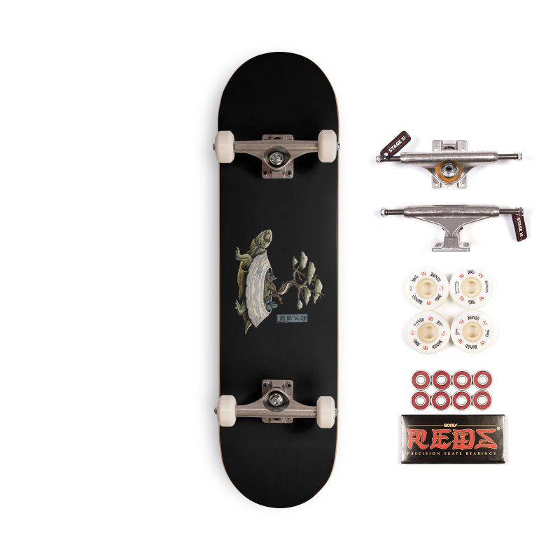 The Legendary Kame Accessories Complete - Pro Skateboard by Vincent Trinidad Art