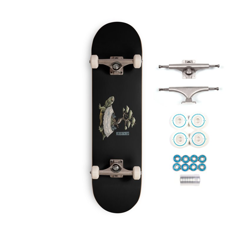 The Legendary Kame Accessories Complete - Basic Skateboard by Vincent Trinidad Art