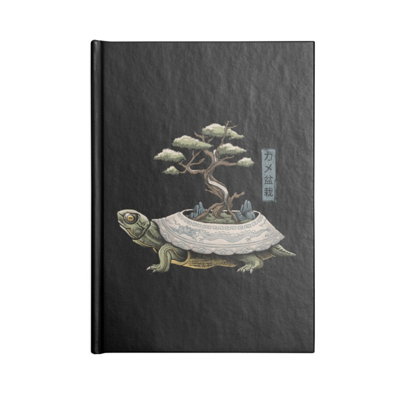 The Legendary Kame Accessories Blank Journal Notebook by Vincent Trinidad Art