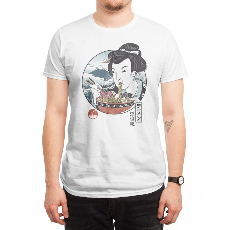 A Taste of Japan Men's T-Shirt by Vincent Trinidad Art