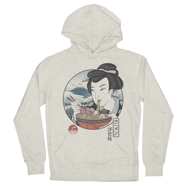 A Taste of Japan Men's French Terry Pullover Hoody by Vincent Trinidad Art