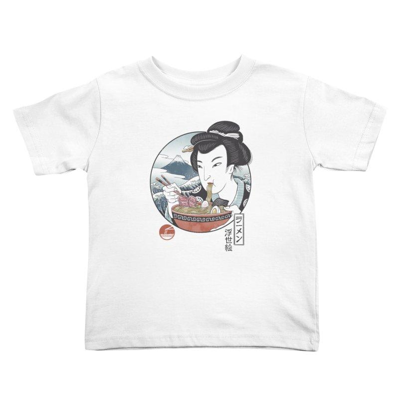 A Taste of Japan Kids Toddler T-Shirt by Vincent Trinidad Art