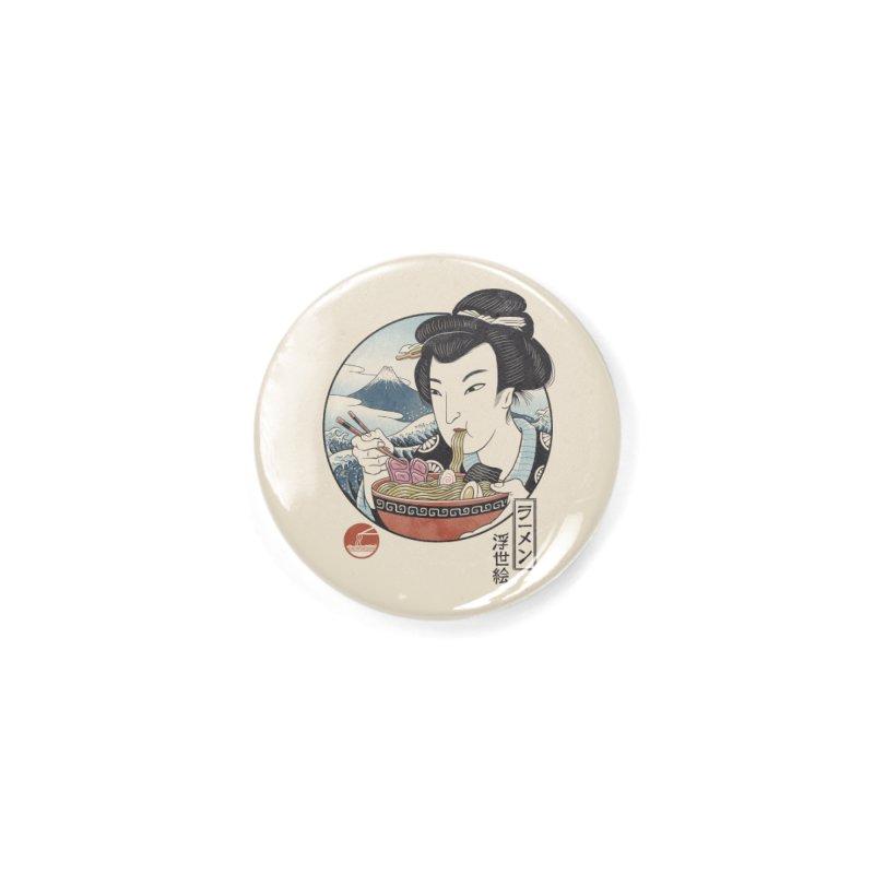 A Taste of Japan Accessories Button by Vincent Trinidad Art