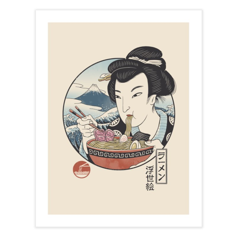 A Taste of Japan Home Fine Art Print by Vincent Trinidad Art