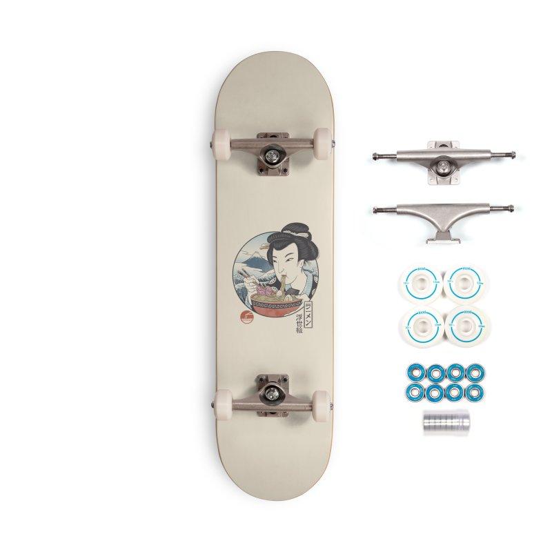 A Taste of Japan Accessories Complete - Basic Skateboard by Vincent Trinidad Art