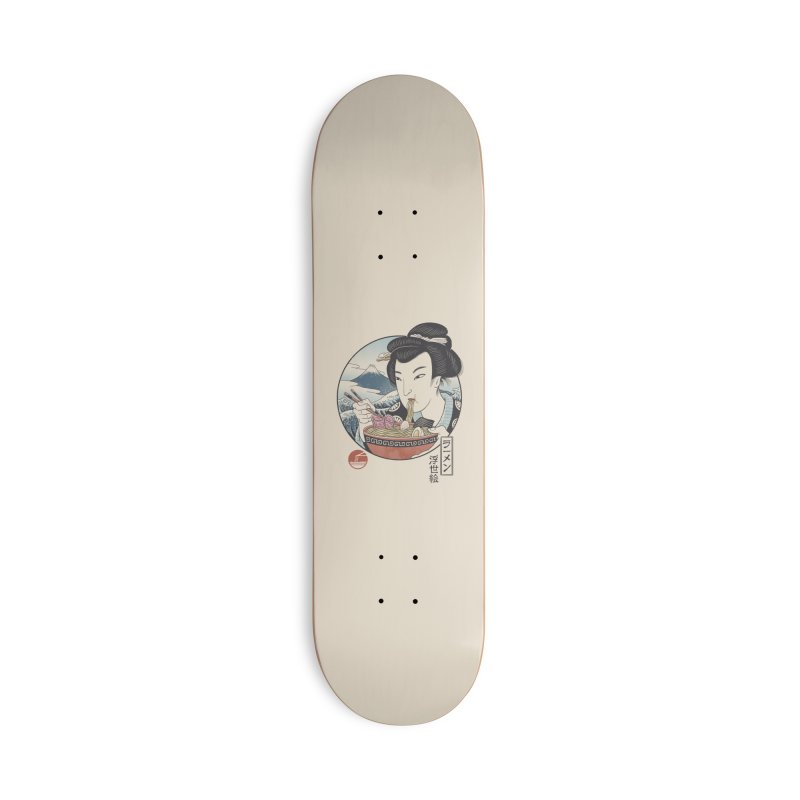 A Taste of Japan Accessories Deck Only Skateboard by Vincent Trinidad Art