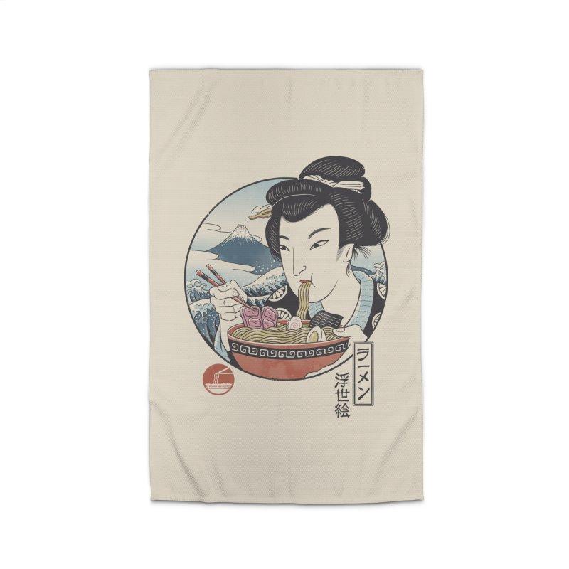A Taste of Japan Home Rug by Vincent Trinidad Art