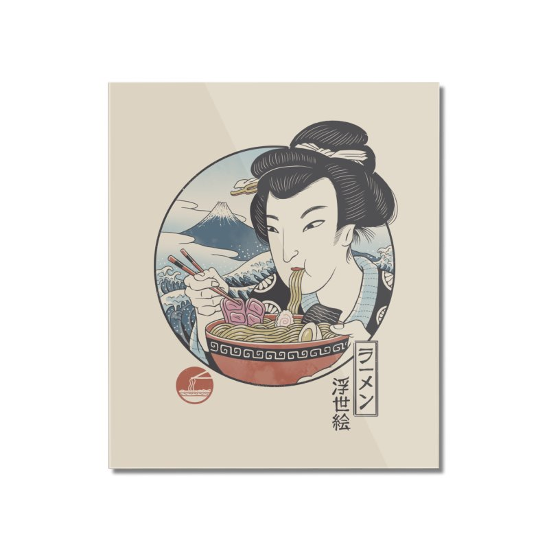 A Taste of Japan Home Mounted Acrylic Print by Vincent Trinidad Art