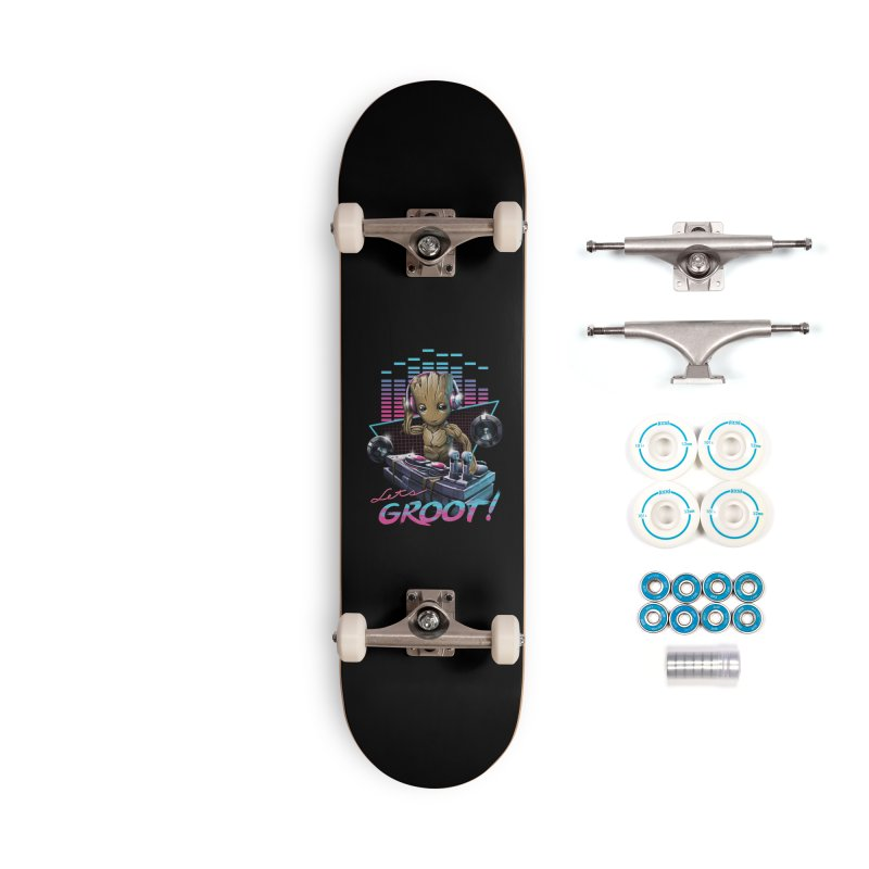 Let's Groot Accessories Complete - Basic Skateboard by Vincent Trinidad Art