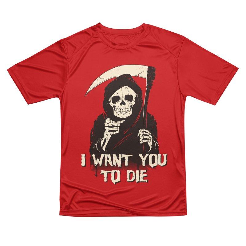 Death Chose You! Women's Performance Unisex T-Shirt by Vincent Trinidad Art