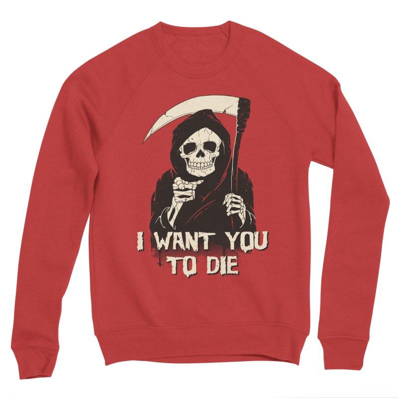 Death Chose You! Men's Sponge Fleece Sweatshirt by Vincent Trinidad Art