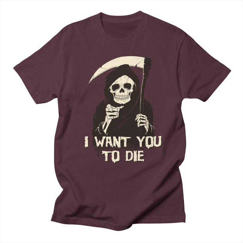 Death Chose You! Men's Regular T-Shirt by Vincent Trinidad Art