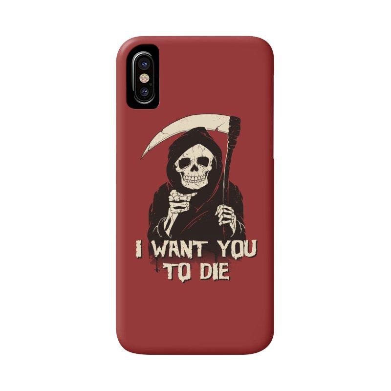 Death Chose You! Accessories Phone Case by Vincent Trinidad Art