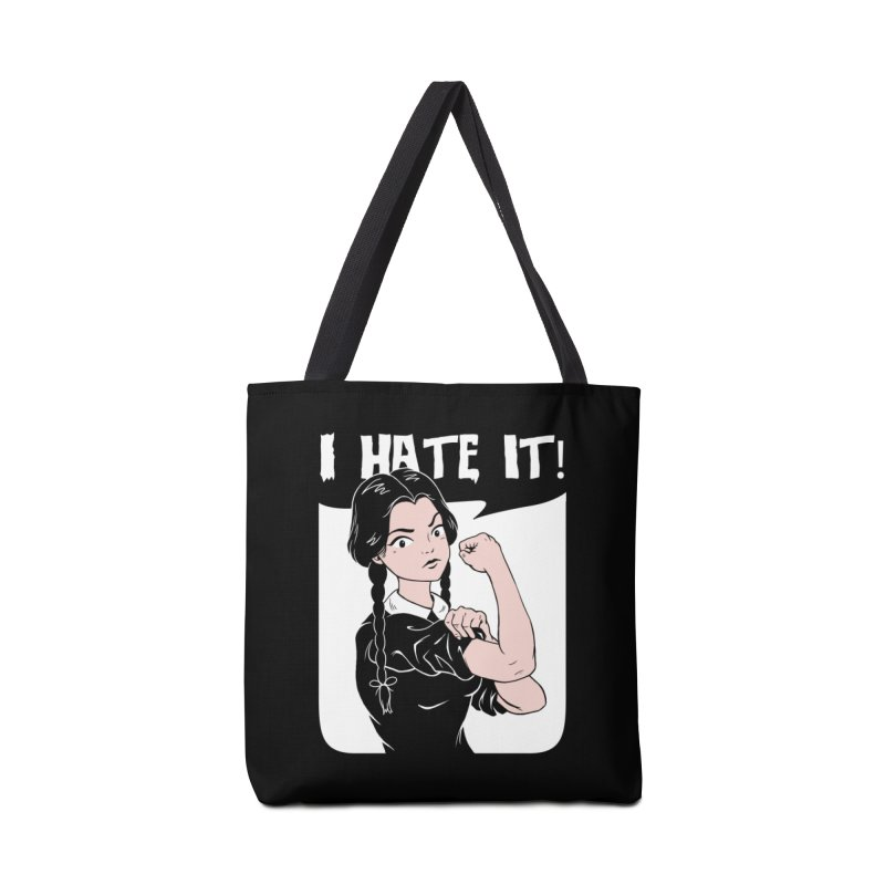 Hate Everything! Accessories Tote Bag Bag by Vincent Trinidad Art