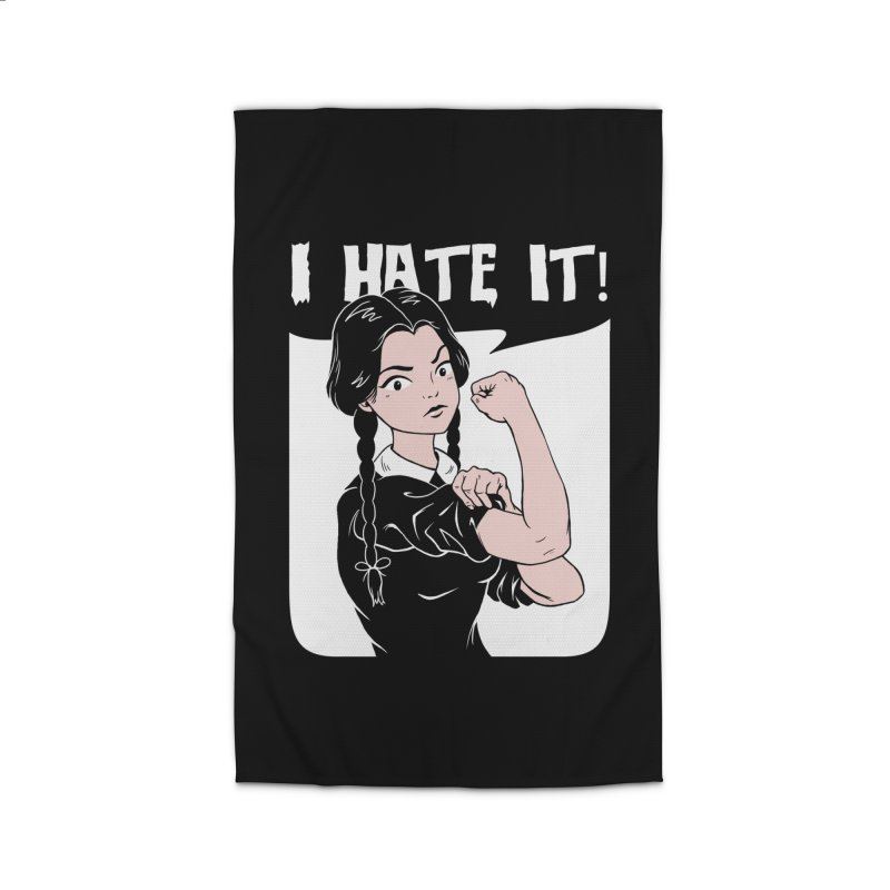 Hate Everything! Home Rug by Vincent Trinidad Art