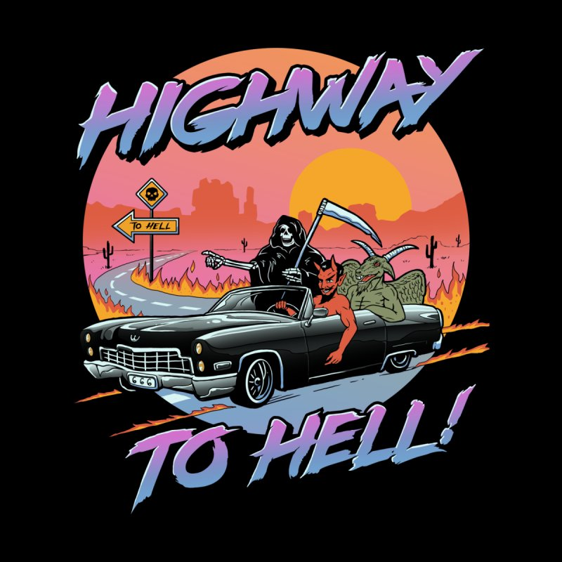 Highway to Hell Women's T-Shirt by Vincent Trinidad Art