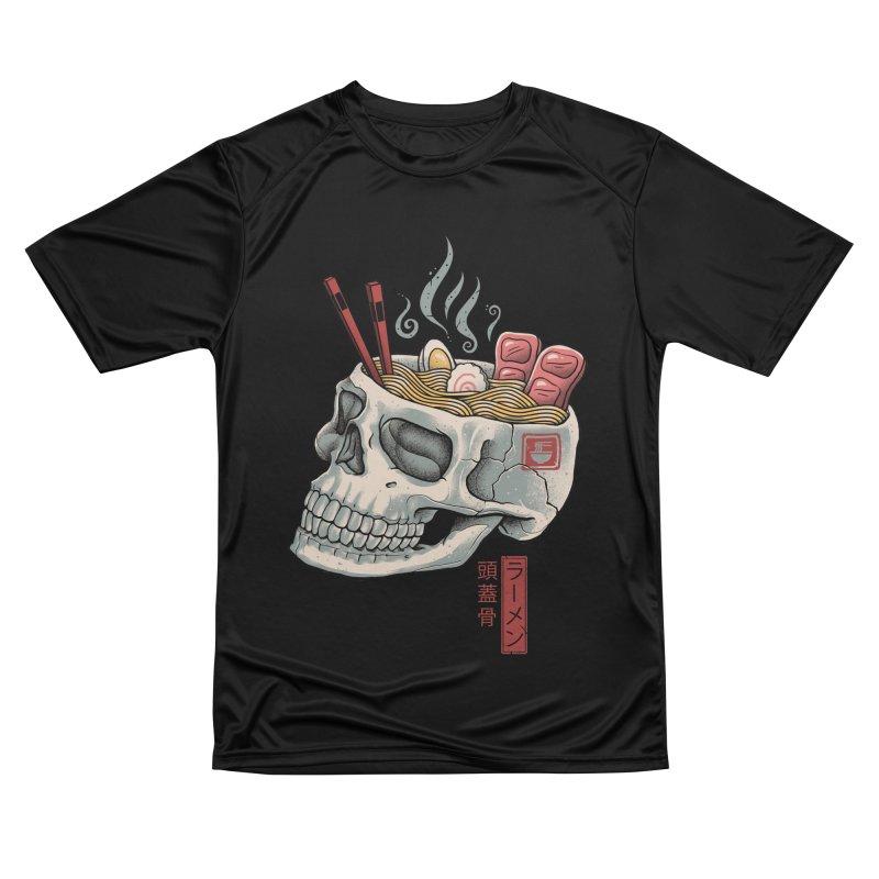 Ramen Skull Men's Performance T-Shirt by Vincent Trinidad Art