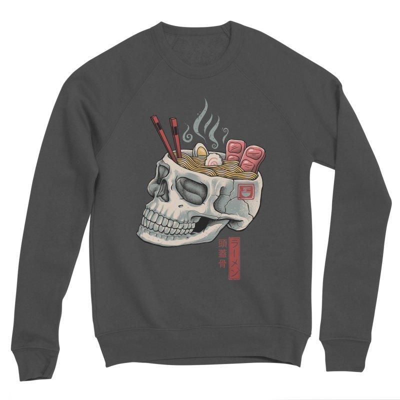 Ramen Skull Women's Sponge Fleece Sweatshirt by Vincent Trinidad Art