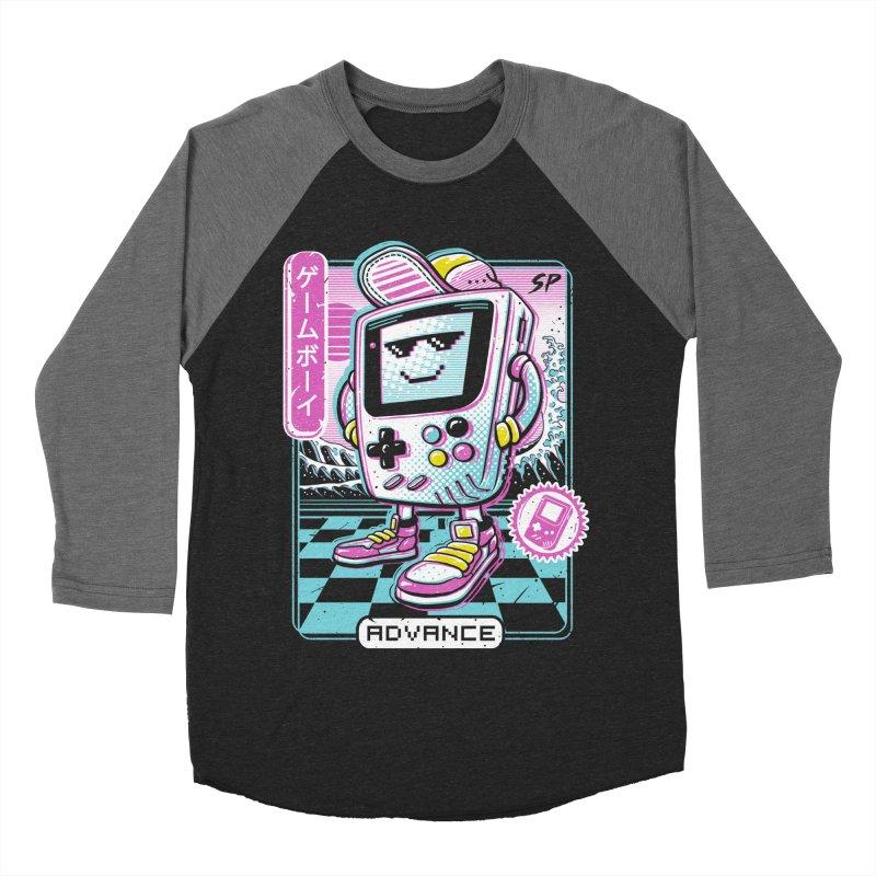 Gamer Boy Women's Baseball Triblend Longsleeve T-Shirt by Vincent Trinidad Art