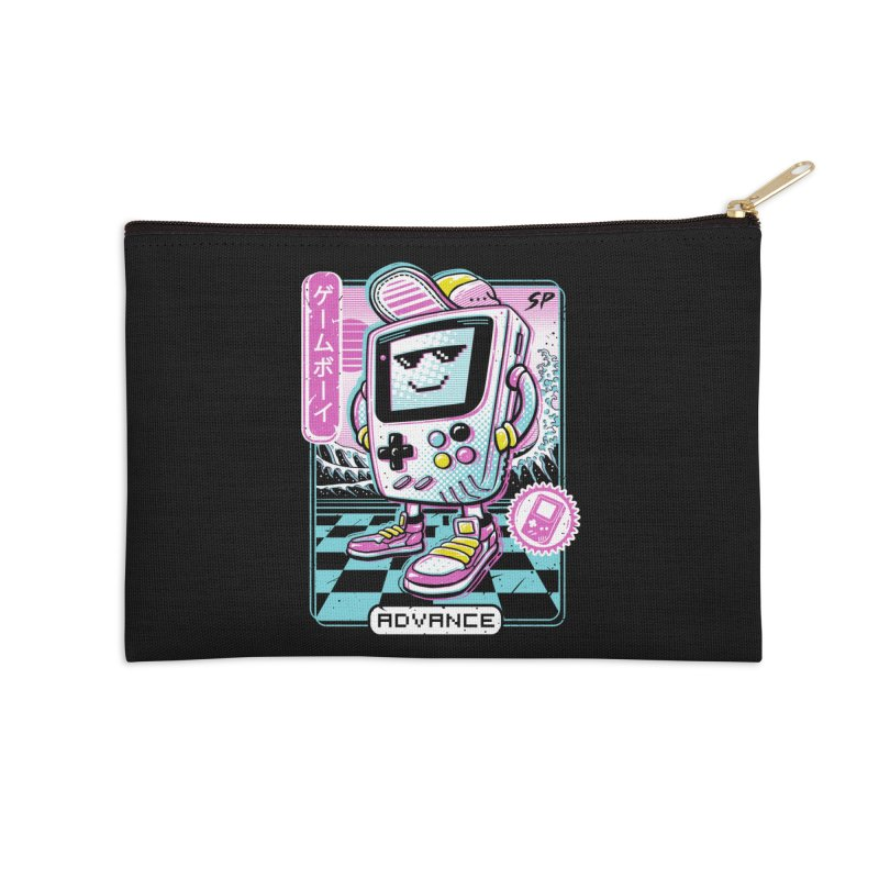 Gamer Boy Accessories Zip Pouch by Vincent Trinidad Art