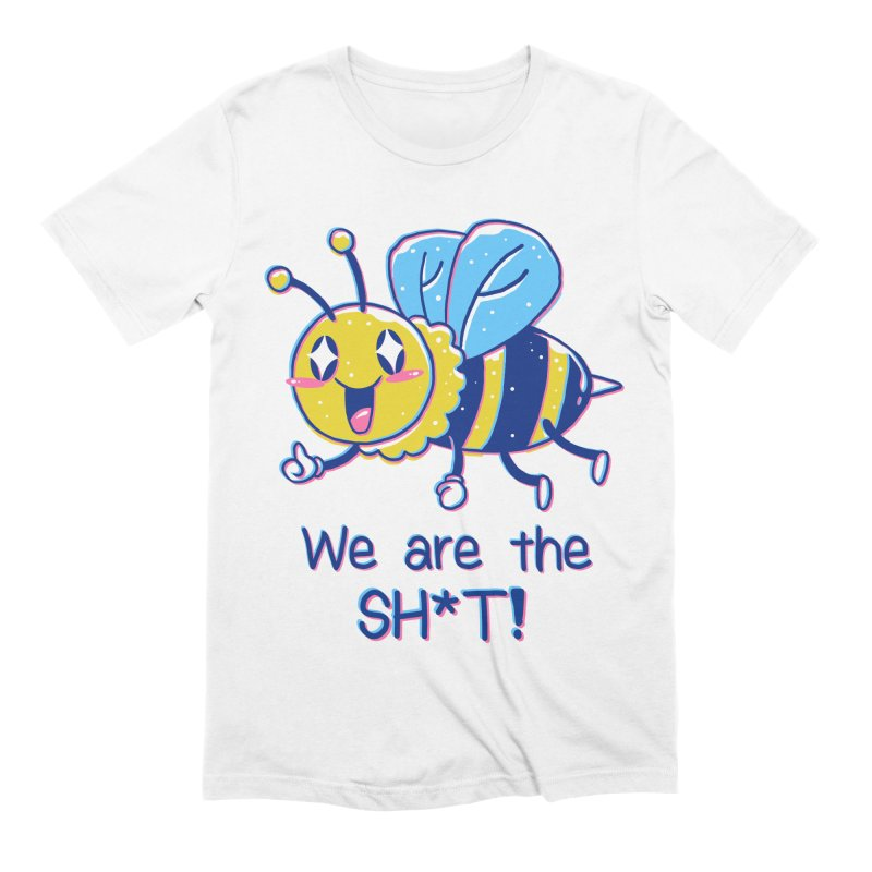 Bees are the Sh*t! Men's Extra Soft T-Shirt by Vincent Trinidad Art