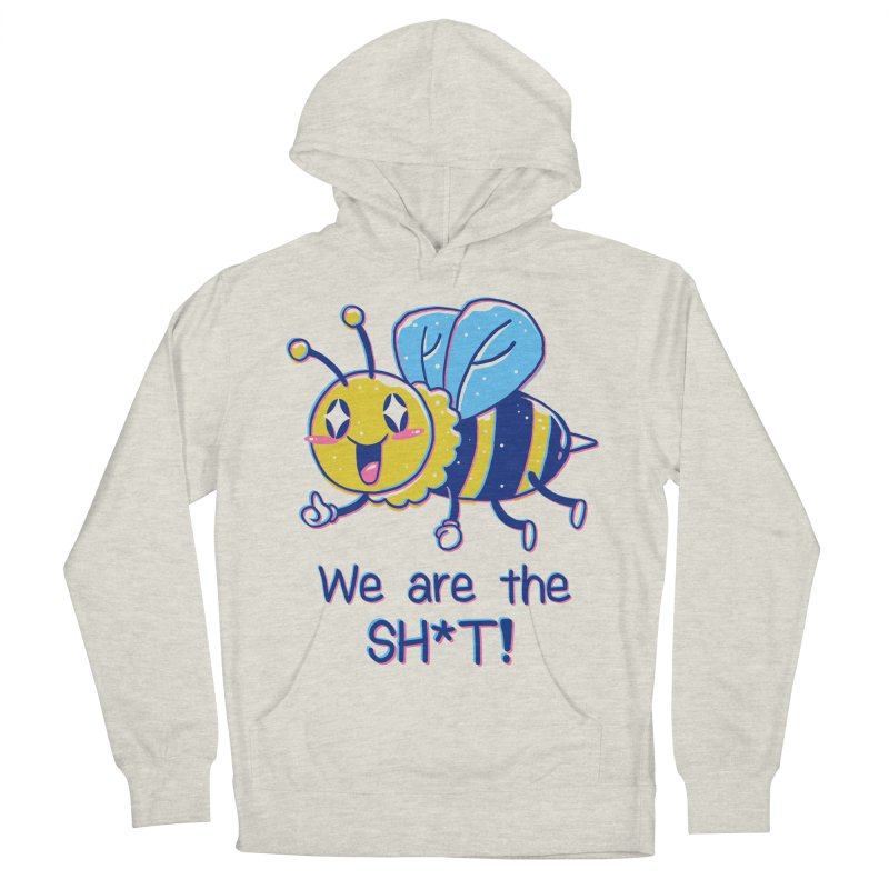 Bees are the Sh*t! Men's French Terry Pullover Hoody by Vincent Trinidad Art