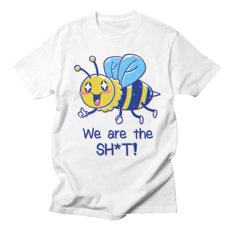 Bees are the Sh*t! Men's Regular T-Shirt by Vincent Trinidad Art