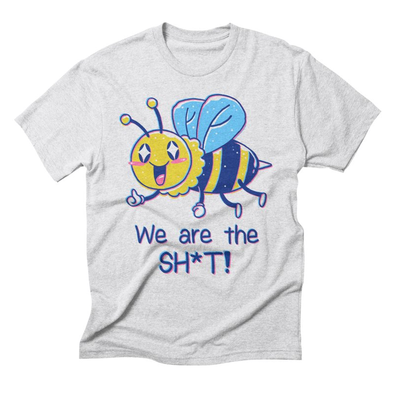 Bees are the Sh*t! Men's Triblend T-Shirt by Vincent Trinidad Art