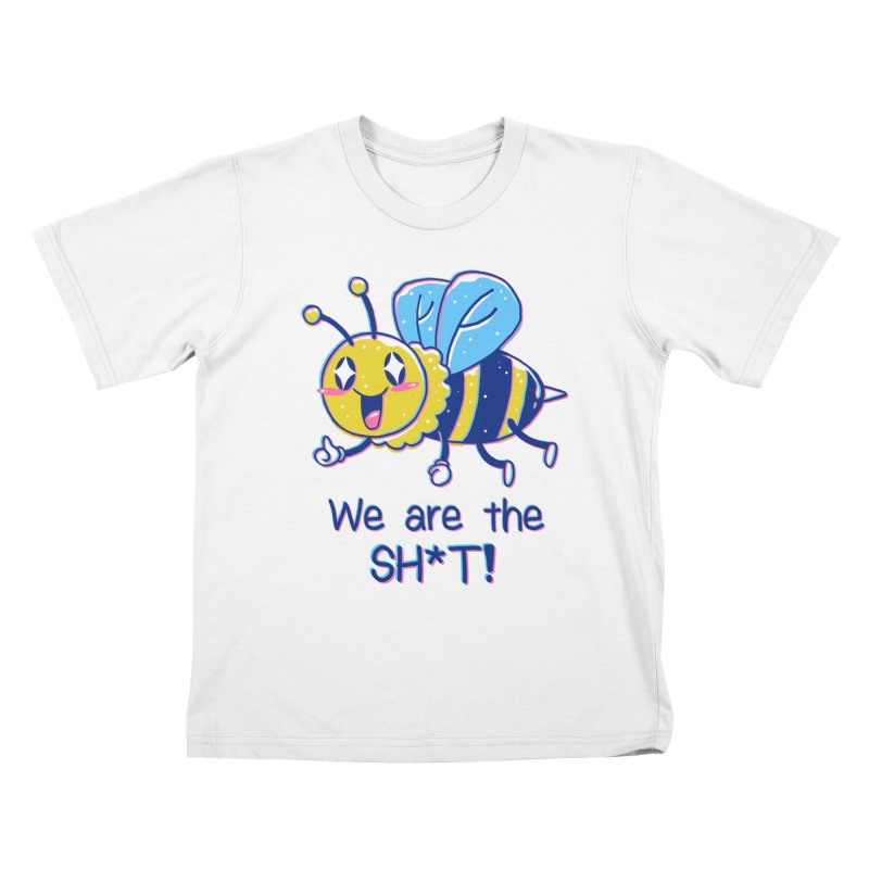 Bees are the Sh*t! Kids T-Shirt by Vincent Trinidad Art