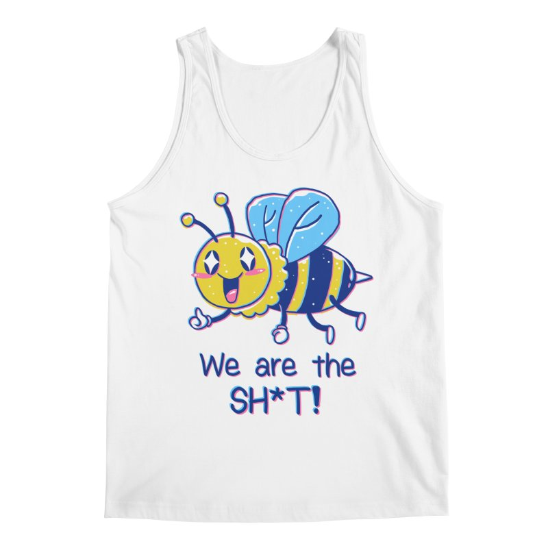 Bees are the Sh*t! Men's Regular Tank by Vincent Trinidad Art