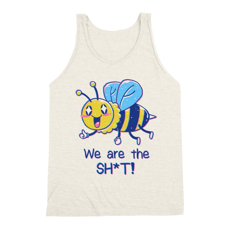 Bees are the Sh*t! Men's Tank by Vincent Trinidad Art