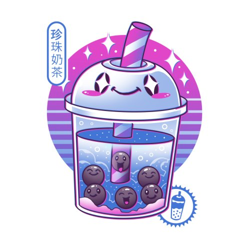 Design for Boba Wave Tea