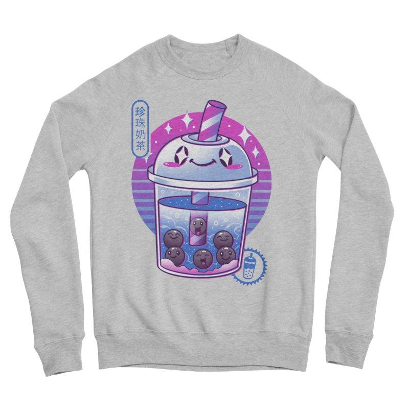 Boba Wave Tea Men's Sponge Fleece Sweatshirt by Vincent Trinidad Art