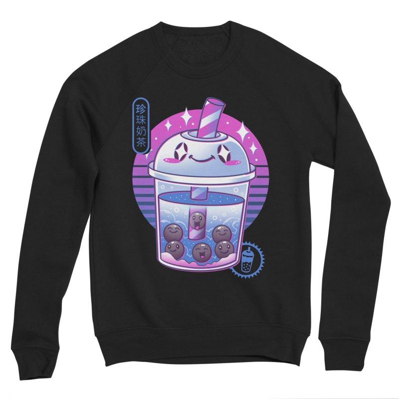 Boba Wave Tea Women's Sponge Fleece Sweatshirt by Vincent Trinidad Art