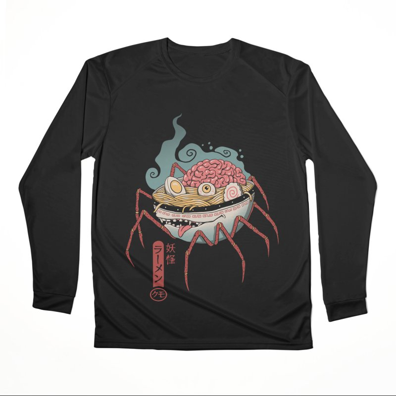Yokai Ramen Men's Performance Longsleeve T-Shirt by Vincent Trinidad Art