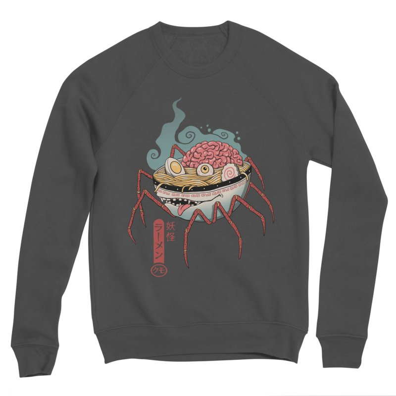 Yokai Ramen Women's Sponge Fleece Sweatshirt by Vincent Trinidad Art